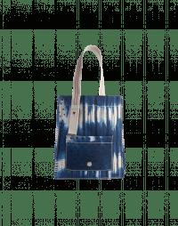 TRUSTWORTHY: Shopper bag in tie-dye canvas