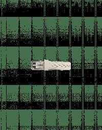 ROTATION: Cintura in pelle intrecciata avorio
