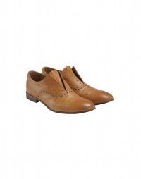 GIG: Tan leather brogues