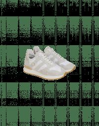 FRANTIC: Sneaker in camoscio e tessuto color crema