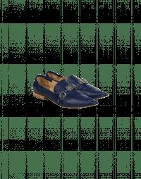 CALIBRE: Mocassini a punta blu navy