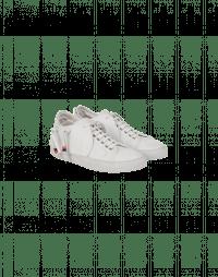 PELL-MELL: Sneaker in pelle bianca