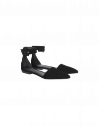 TIPTOE: Sandali bassi in camoscio