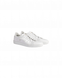 SKIP: Sneaker aus weißem Leder