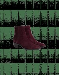 EN ROUTE: Burgundy suede Chelsea boot