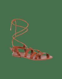 HOLDFAST: Sandali intrecciati in pelle