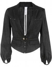 Wool and cotton jacket