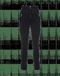 MINIMALIST: Black pant with velvet