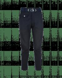 IN-MOTION: Pantaloni blu navy affusolati