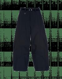 CREATIVE: Navy curved seam pants