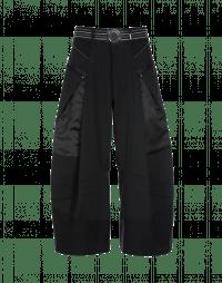 COLLAGE: Pantaloni con pannelli gessati