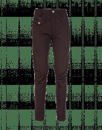 MAC: Burgundy tapered leg pants