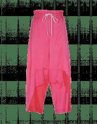 DIVERGE: Pantalone rosa acceso con cordino