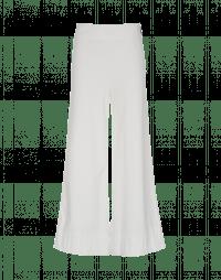 EQUITY: Pantaloni bianchi a gamba ampia