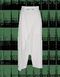 CONTRARY: Pantaloni avvolgenti bianchi