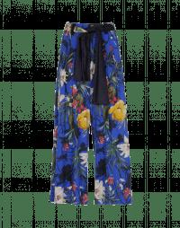 PERPETUAL: Pantaloni ampi con fantasia floreale multicolore