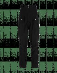 GAMBOL: Pantaloni a vita alta con tasche a soffietto