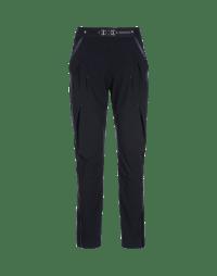 NEW-LURCH: Pantaloni affusolati in Sensitive® blu con pieghe