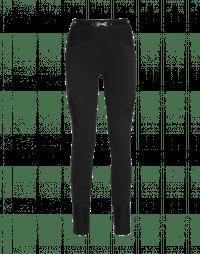 HI-LAY-OUT: Pantaloni neri con cuciture multiple