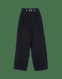 CREATIVE: Navy Sensitive® curve seam pants