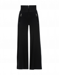 EQUITY: High ribbed waist flared pants