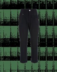 HYPER: Pantalone blu navy in twill tecnico con pannello laterale