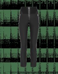 MINIMALIST: Pantaloni aderenti in jersey tecnico nero