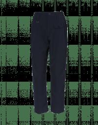 HYPER: Pantaloni blu navy in twill tecnico