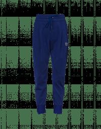 EAGER: Joggers blu elettrico con cuciture diagonali