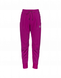 EAGER: Cyclamen multi-panel joggers with diagonal seams