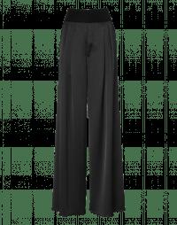 FLAWLESS: Pantaloni a palazzo in raso tecnico