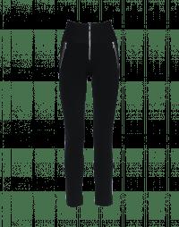 MINIMALIST: Black hi-waist pant