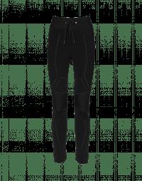 BIONIC: Black multi panel pull-on pants