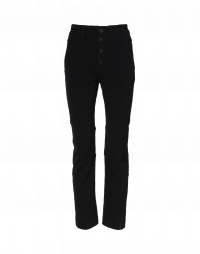 WAYWARD: Black tech twill pants