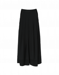 ASSURE: Super-wide leg pleated front pants