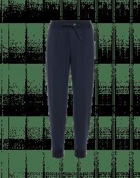 INTERCEPT: Joggers in jersey tecnico blu navy