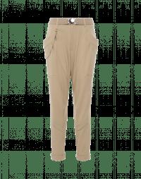 EXERT: Pantalone in twill stretch beige