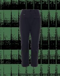 HYPER: Pantaloni in twill tecnico navy con taschino