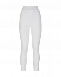 HALT: Leggings bianchi in Sensitive® e rete