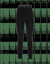 HALT: Black classic tech jersey leggings