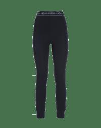 HALT: Navy classic tech jersey leggings