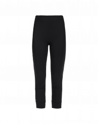 HALT: Leggings basici in jersey tecnico nero