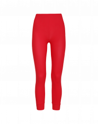 HALT: Red classic tech jersey leggings