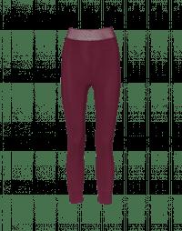 HALT: Leggings in Sensitive® color borgogna