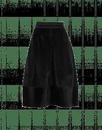 DUET: Eco fur full skirt
