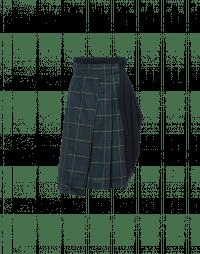 MULTIPLE: Hi waited half-kilt and drape skirt