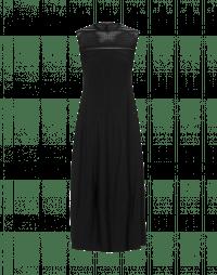 MESMERIZE: Black Sensitive® dress with tech lace yoke