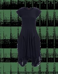 PRAISE: Navy Sensitive® dress with tech mesh hem