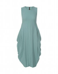 AT LENGHT: Turquoise Sensitive® balloon dress