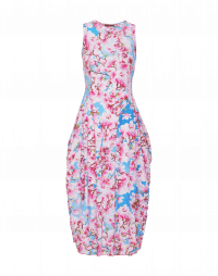 AT-LENGTH: Pink, white and blue magnolia print Sensitive®